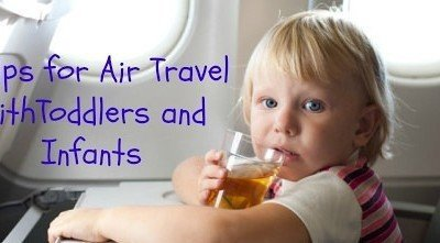 6 Tips for Air Travel with Toddlers and Infants